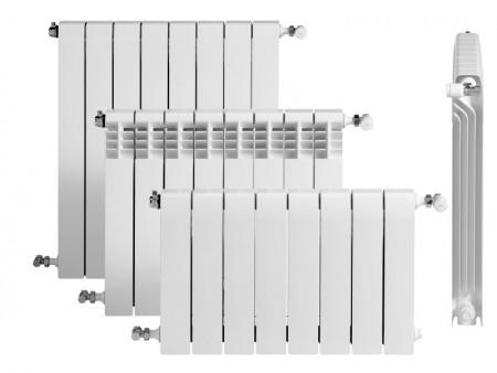 Radiador blanco de marca Roca