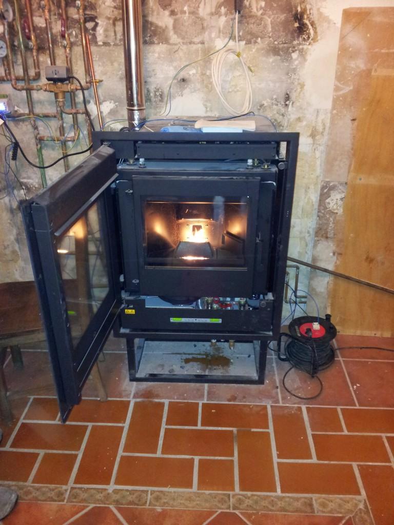 Fontaner a y calefacci n de pellets for Calefaccion de pellets