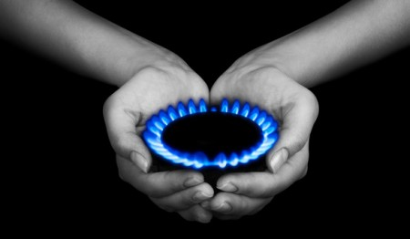 El gas en tus manos