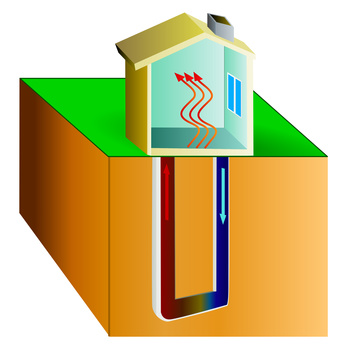 Calefacción económica con energía geotérmica