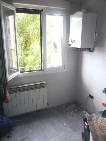 reforma de fontanería en cocina con caldera. El después-3