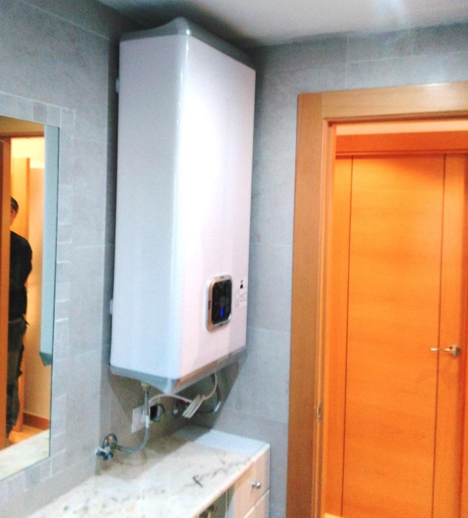 Instalaci n de termo el ctrico y calefacci n santamarta - Instalacion de termo electrico ...