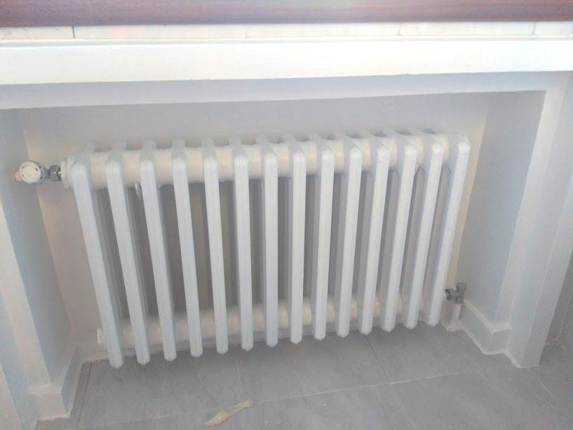 Cambio de radiadores de calefacción