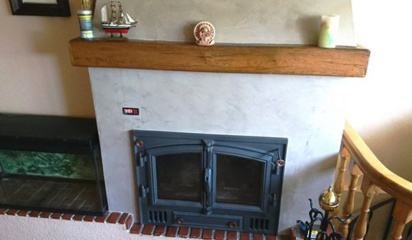 instalar chimenea de leña